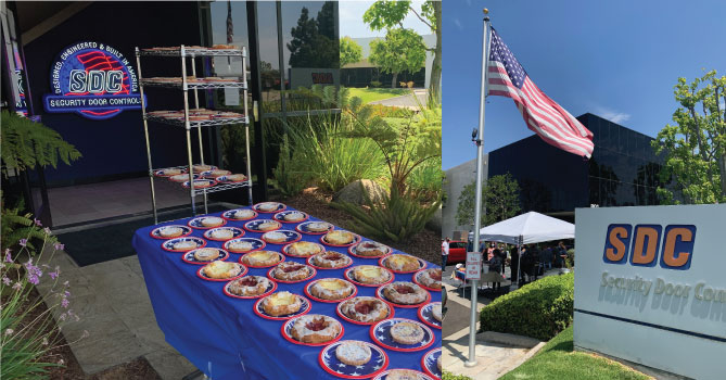 SDC Observes Memorial Day With First Get-Together of the Year