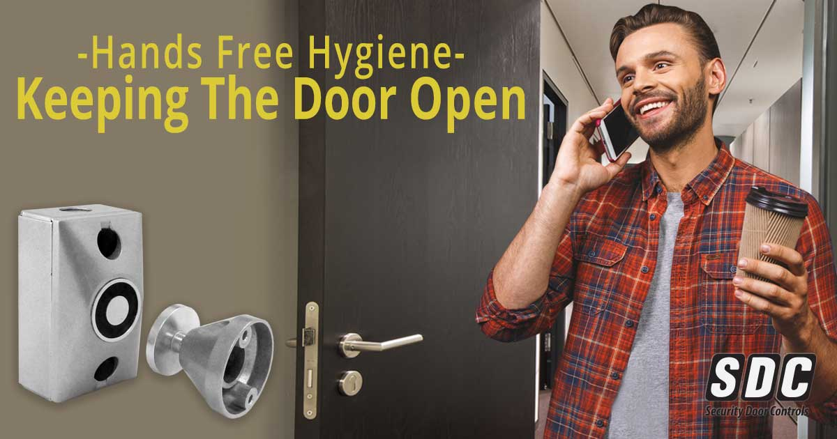 Hands Free Hygiene: Keeping The Door Open